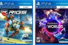 PlayStation VR Spielverpackung gezeigt