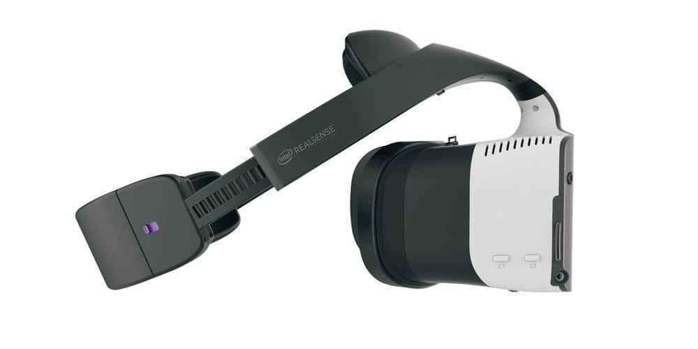 Project Alloy Standalone VR Headset von Intel