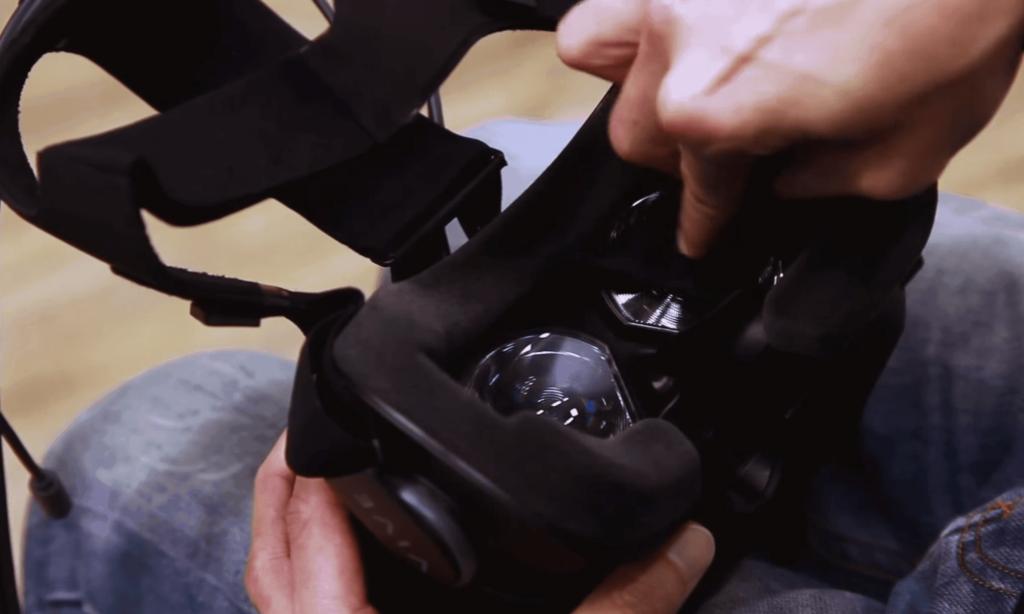 VR-Brille putzen und pflegen