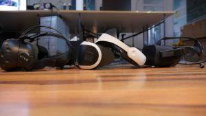 PlayStation VR, HTC Vive, Oculus Rift,