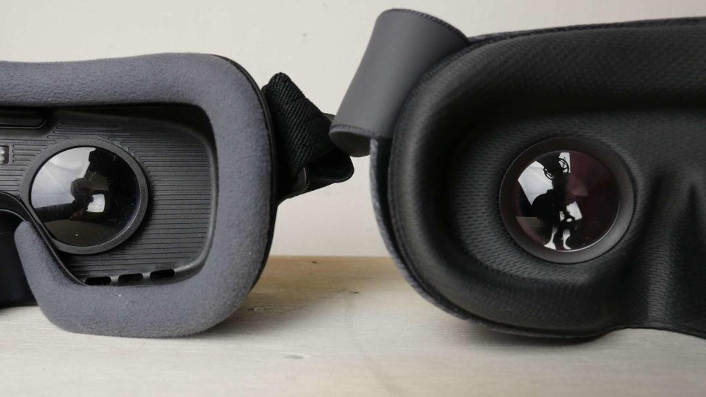 Daydream View vs. Samsung Gear VR