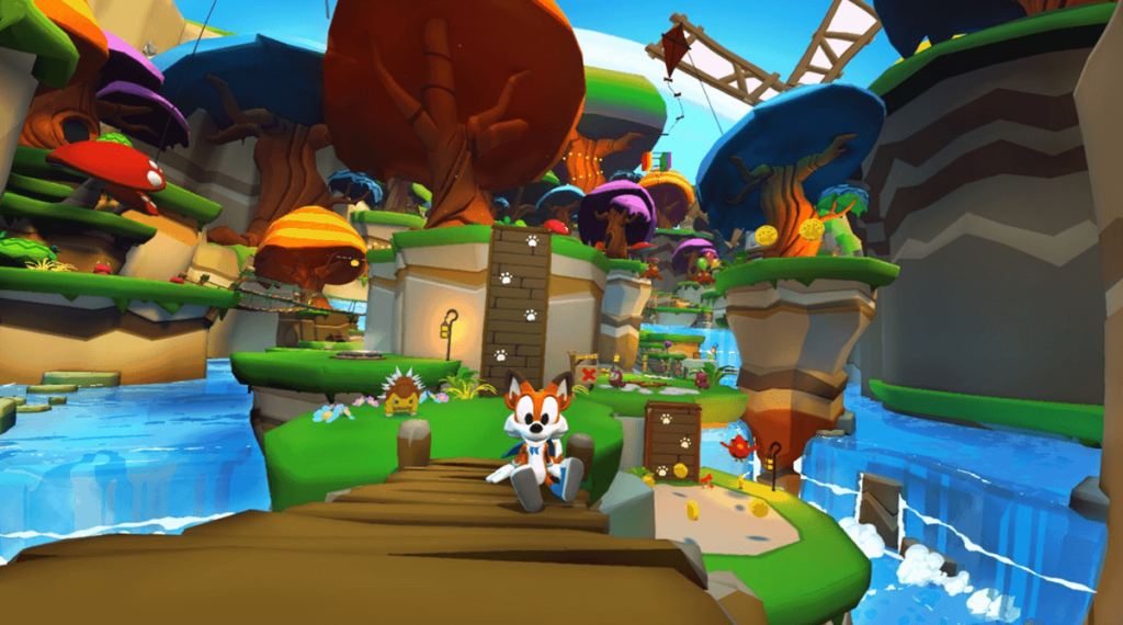 Lucky's Tale erhält Touch Support