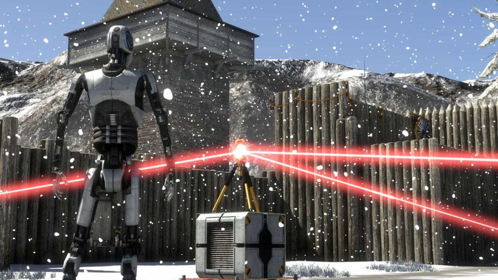 The Talos Principle VR in Aussicht