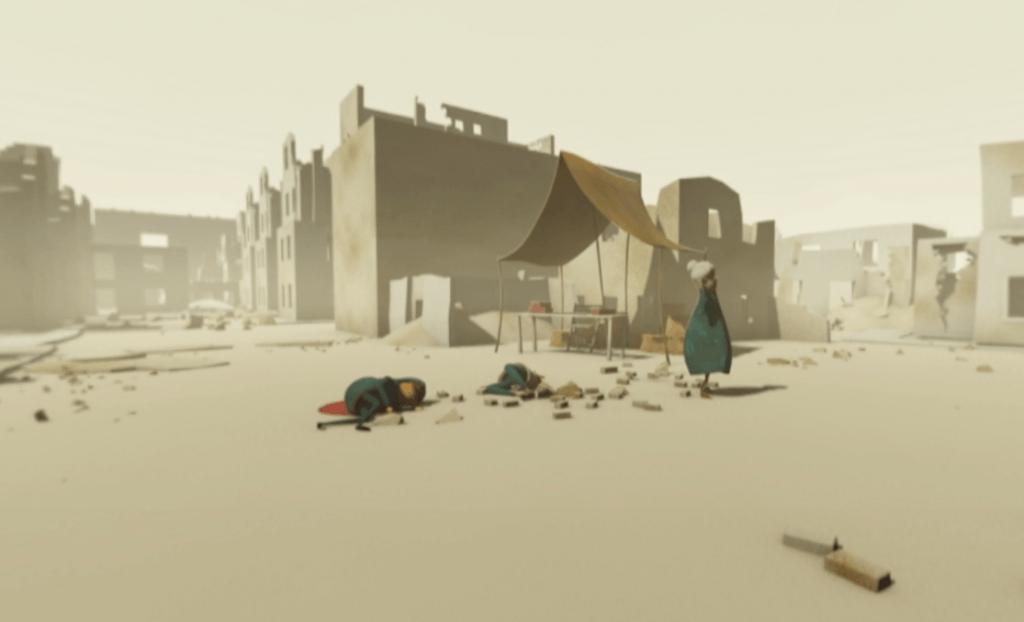 VR Animation Syrien, 360 Grad