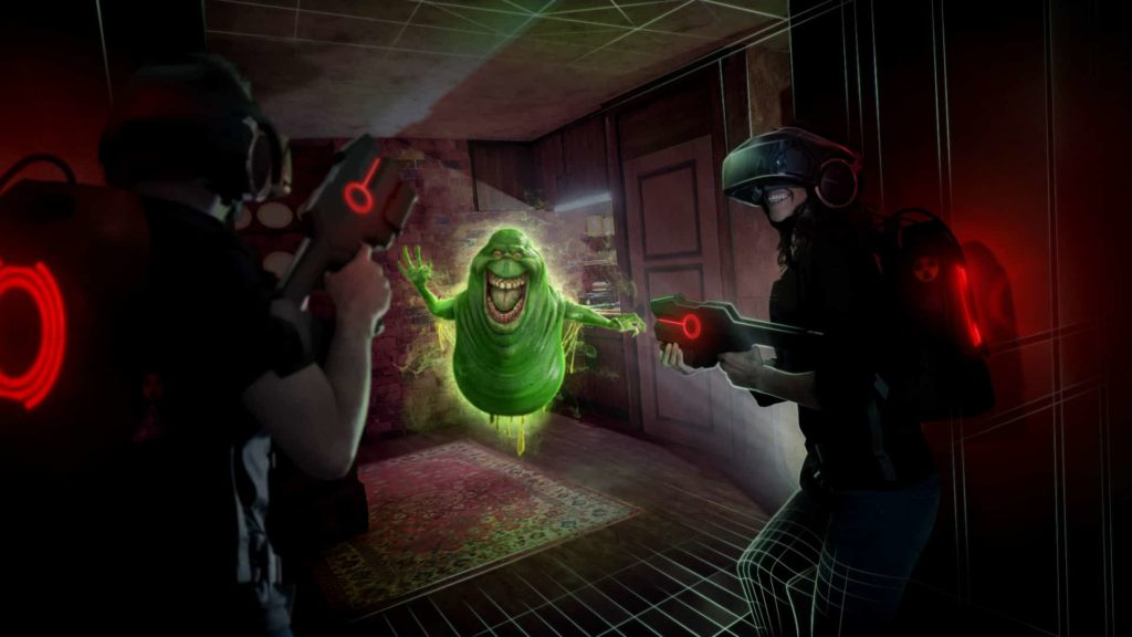 Virtual Reality Ghostbusters