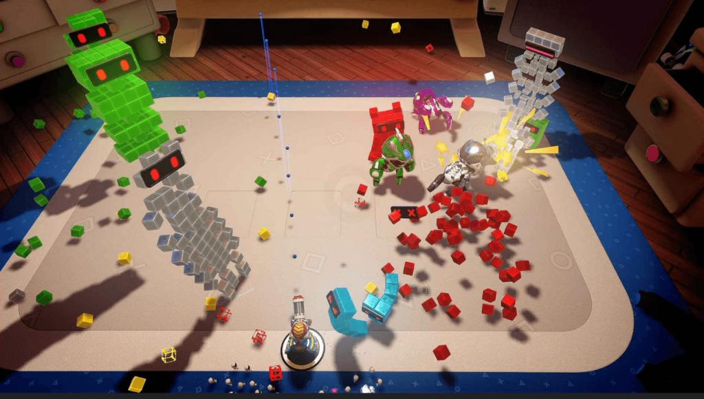 SPIELZEUG-KRIEG für THE PLAYROOM VR