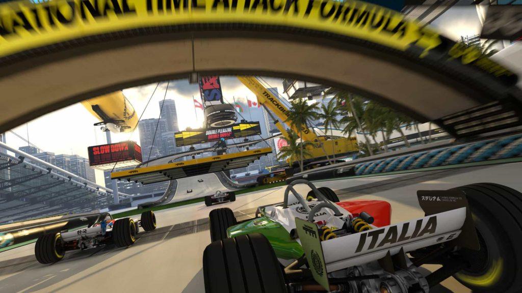 TrackMania Turbo mit PSVR
