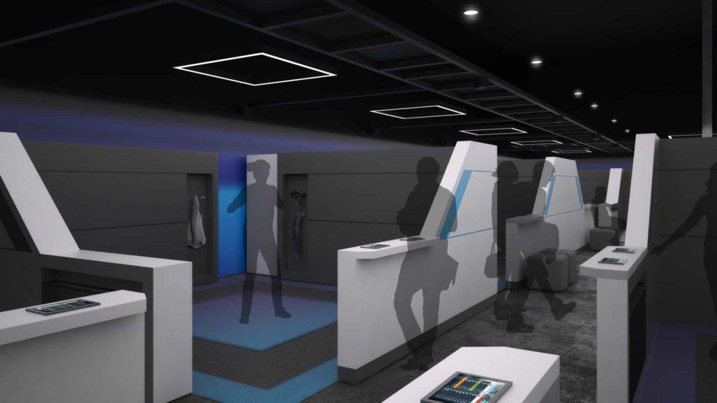 Imax Kino mit VR Erfahrung