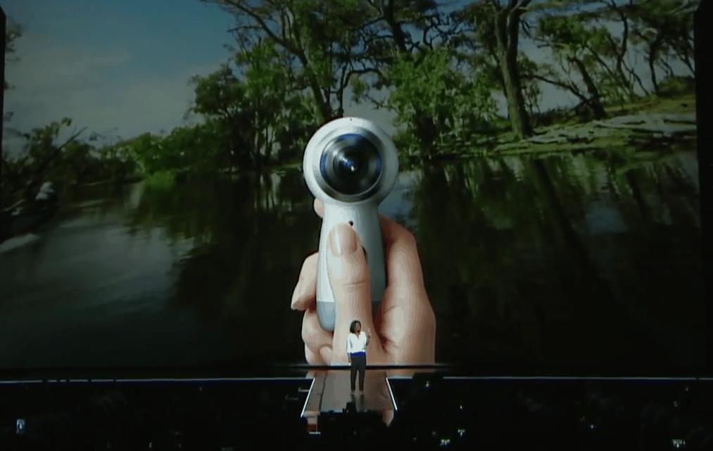 Neue Gear 360 Grad Kamera von Samsung