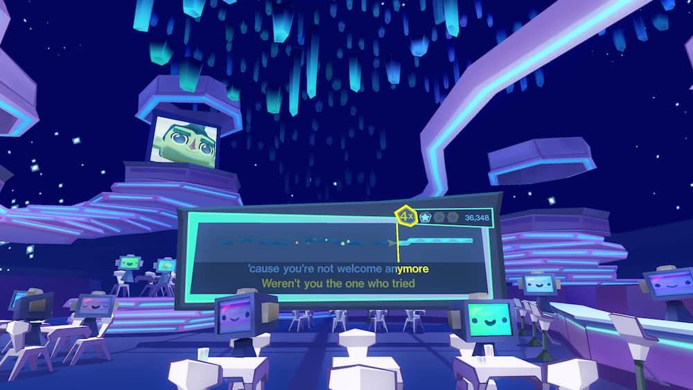 Karaoke Spiel Virtual Reality