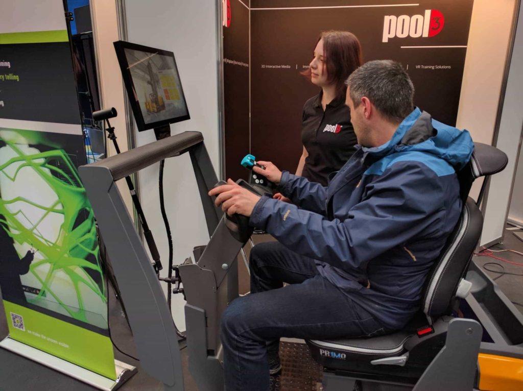 Gabelstapler-Simulator VR