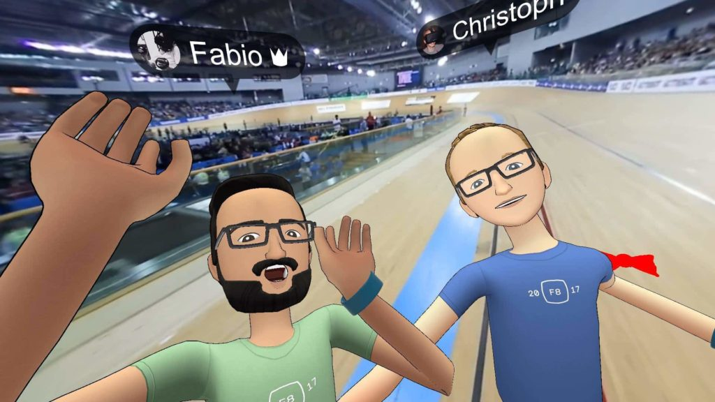 Facebook Spaces 3