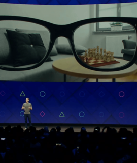 Mark Zuckerberg AR Brille