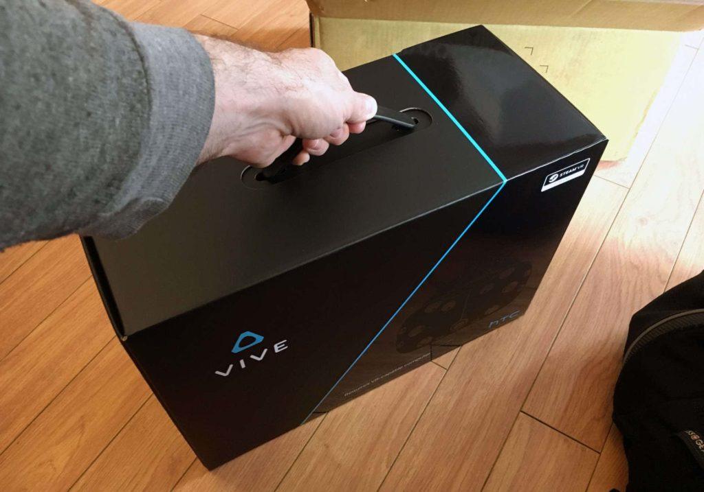 Neuer HTC Vive Karton