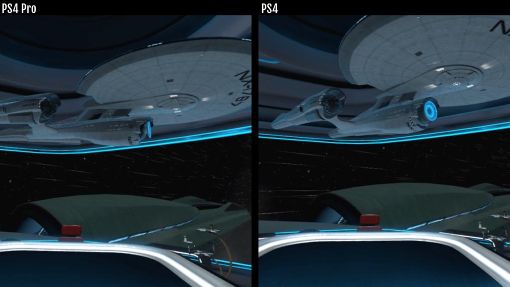 PS4 Pro Star Trek Vergleich