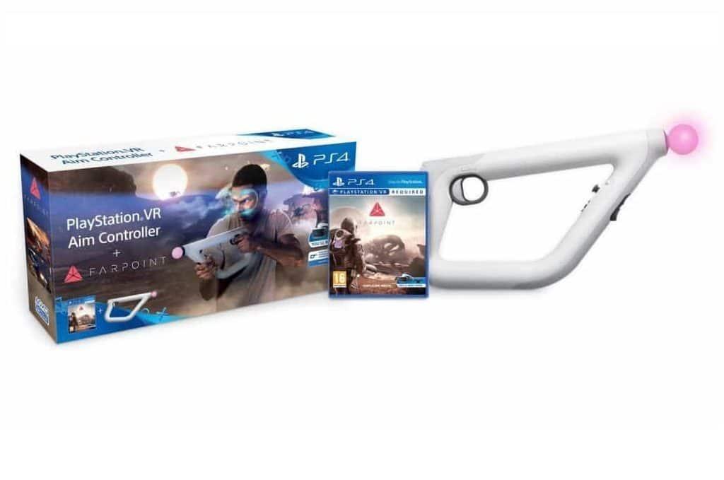 PlayStation Aim Controller und Farpoint gewinnen