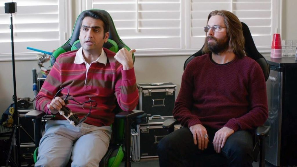 Silicon Valley mit Brille