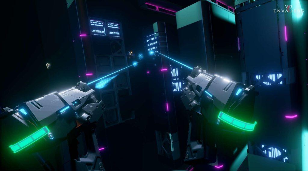 VR Invaders für PSVR